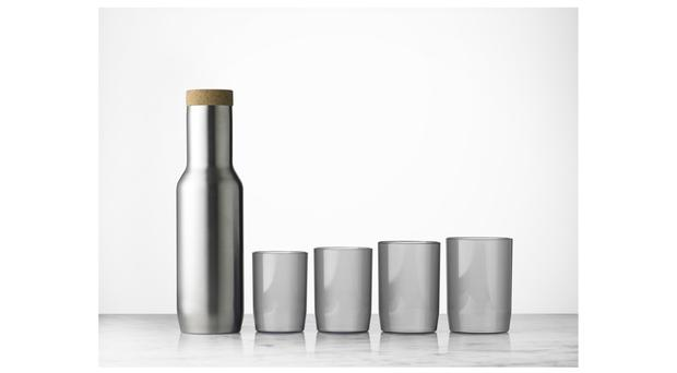 Nomad carafe and glasses