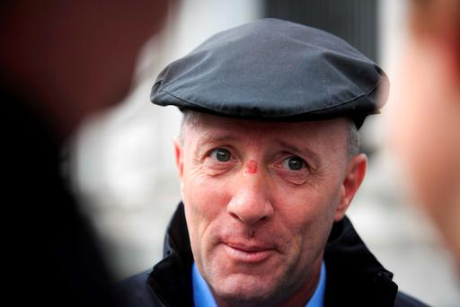 Independent TD Michael Healy Rae Photo: Gareth Chaney Collins