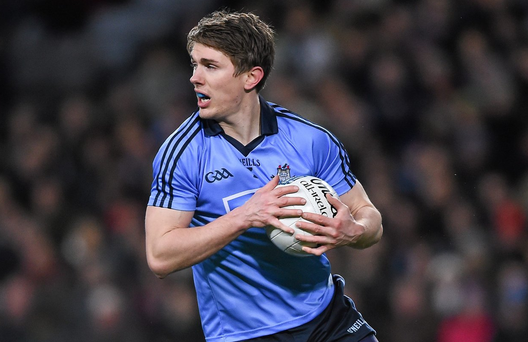 Michael Fitzsimons is embracing full-back role. Photo: Ray McManus/Sportsfile