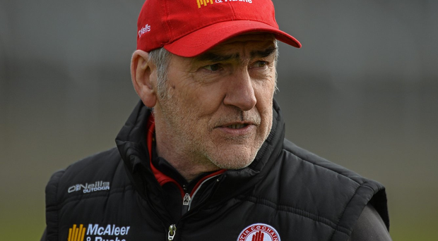 Tyrone manager Mickey Harte. Photo: David Maher/Sportsfile