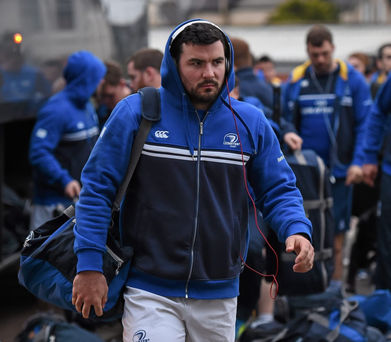 Leinster lock Mick Kearney is looking forward to facing his former Connacht team-mates at the Sportsground tomorrow evening. Photo: Stephen McCarthy/Sportsfile