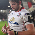 Iain Henderson is back in the Ulster team for tonight's trip to Glasgow. Photo: Ramsey Cardy/Sportsfile