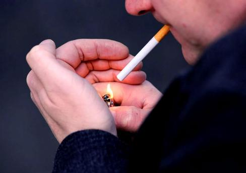 Smoking raises risk of TB. Photo: Jonathan Brady/PA Wire