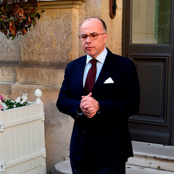 French Interior Minister Bernard Cazeneuve. Photo: AFP/Getty Images