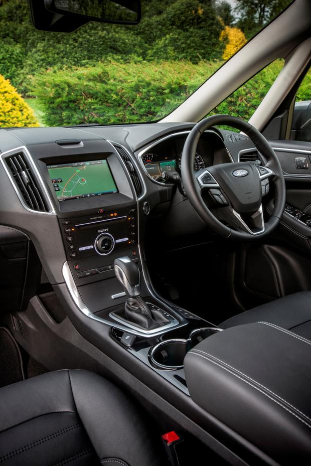 Inside the Ford Galaxy