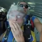 Joan Smyth (80) from Bangor in Co Down, took part in a skydive in Sydney, Australia to raise funds for charity.