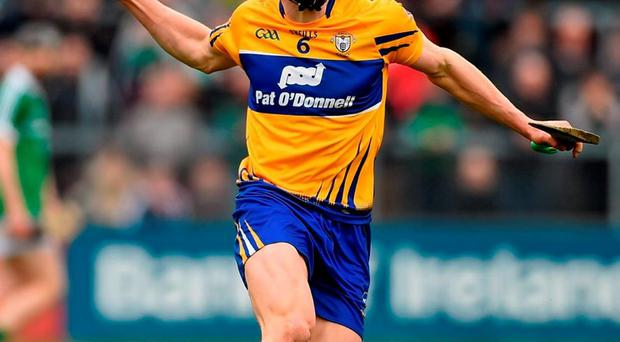 Clare's David McInerney has been ruled out of their Allianz HL quarter-final against Tipperary on Sunday week. Photo: Diarmuid Greene / Sportsfile