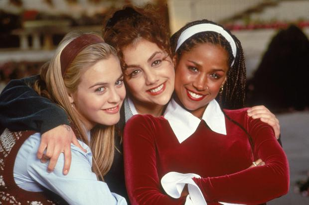 Brittany Murphy with Alicia Silverstone and Stacey Dash in Clueless
