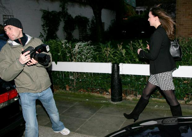 Kate Middleton leaves her Chelsea flat on her 25th birthday on January 9, 2007 in London, England. (Photo by Gareth Cattermole/Getty Images)
