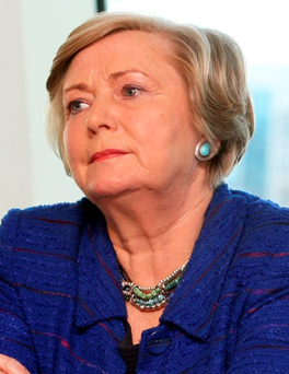 Frances Fitzgerald: 'As a country with the same values as our European partners, we are not immune' Photo: Tom Burke