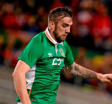 Republic of Ireland's Shane Duffy has already set his sights on the World Cup qualifiers. Photo: Seb Daly / Sportsfile