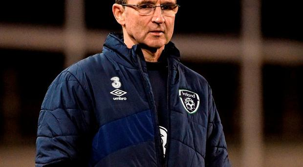 Republic of Ireland manager Martin O'Neill. Photo: David Maher / Sportsfile