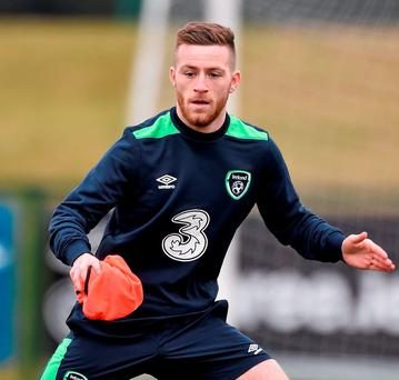 Rising star Jack Byrne learned his trade at St Kevin's. Photo: David Maher / Sportsfile
