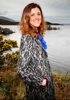 Taking stock: Former Fine Gael TD for Mayo, Michelle Mulherin on the shores of Lough Conn Photo: Brian Farrell