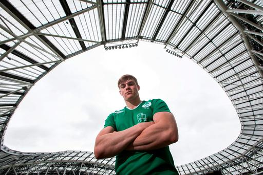 'I remember when we ran out initially and then when Munster ran out the whole place shook.' Photo: INPHO/Ryan Byrne