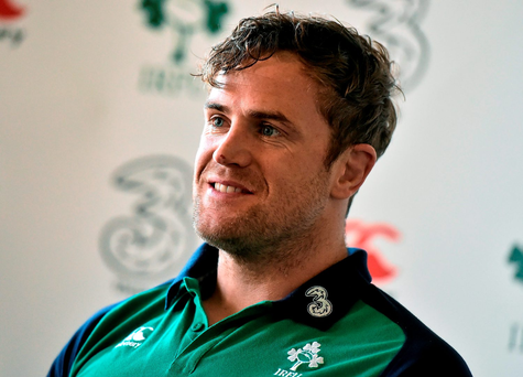 'I believe we have seen senior players like Jamie Heaslip step back up to a level we all know he has and should be at all the time with his experience and ability' Photo: David Maher / SPORTSFILE