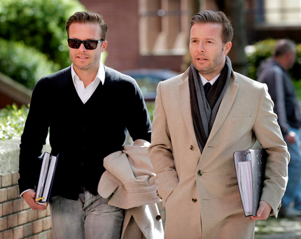 Cafe society: Simon and Christian Stokes still owe millions Photo: Frank Mc Grath