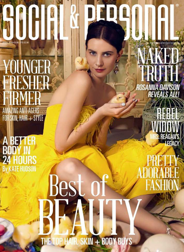 The cover of Social & Personal magazine