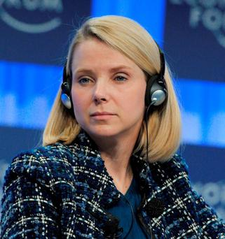 Yahoo chief executive Marissa Mayer