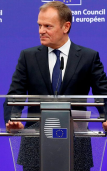 Donald Tusk: The EU and its institutions stand united in the face of terrorism Photo: REUTERS/Francois Lenoir