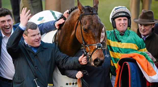 A winner at Cheltenham, Cause Of Causes forms part of Gordon Elliott's eight-strong team for the Irish Grand National
