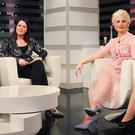 Aisling O'Loughlin (pictured with co-host Lisa Cannon) on Xpose