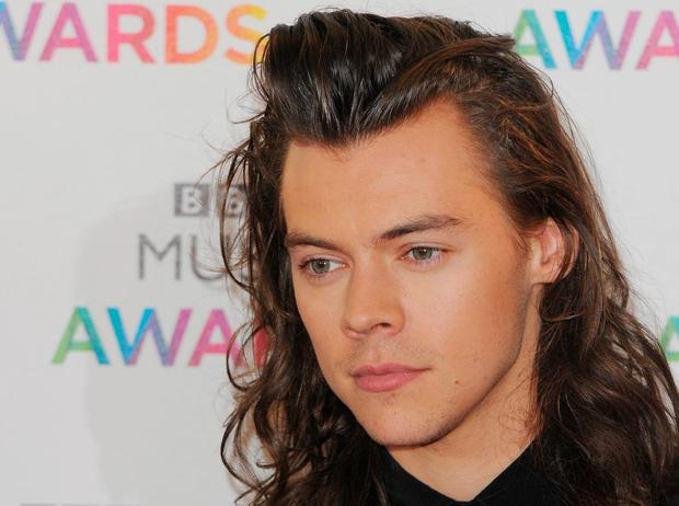 Harry Styles of One Direction attends the BBC Music Awards at Genting Arena on December 10, 2015 in Birmingham, England. (Photo by Eamonn M. McCormack/Getty Images)