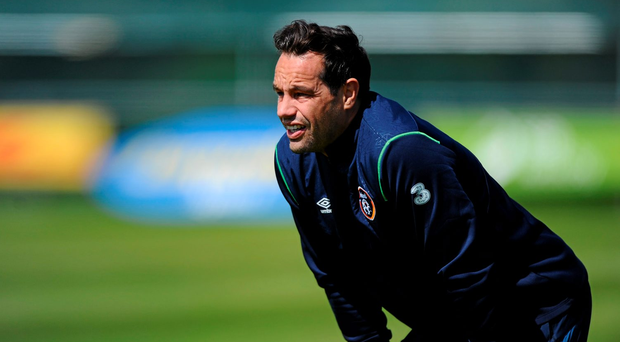 'I just need to be ready, that's all I can do. When it comes, I need to be ready to play and give it my all,' says David Forde. Photo: Seb Daly / SPORTSFILE