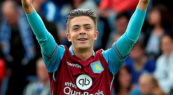 Jack Grealish looked to have such a bright future, but his club career with Aston Villa and his international career prospects have nosedived since snubbing Irish squad Photo: Getty