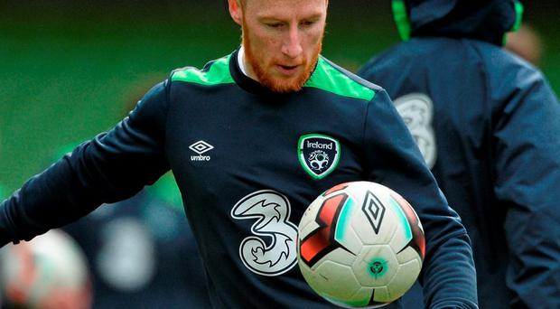 Stephen Quinn is just one of a number of players keen to impress tomorrow night. Photo: David Maher / Sportsfile