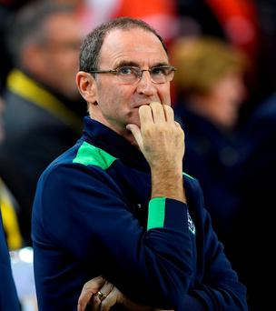 Republic of Ireland manager Martin O'Neill. Photo: Charles McQuillan/Getty Images