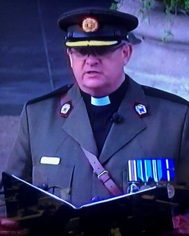 Fr Seamus Madigan, Head Chaplain, Defence Forces