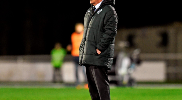 Republic of Ireland U-21 manager Noel King. Photo: Sportsfile