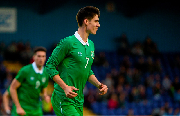 Ireland U21 Callum O'Dowda. Photo: Sportsfile