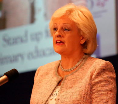 Patricia King: 'varying pay rates an untenable situation' Photo: Mary Browne