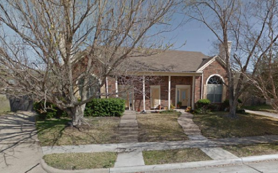 The house before it was pulled down Credit: Google