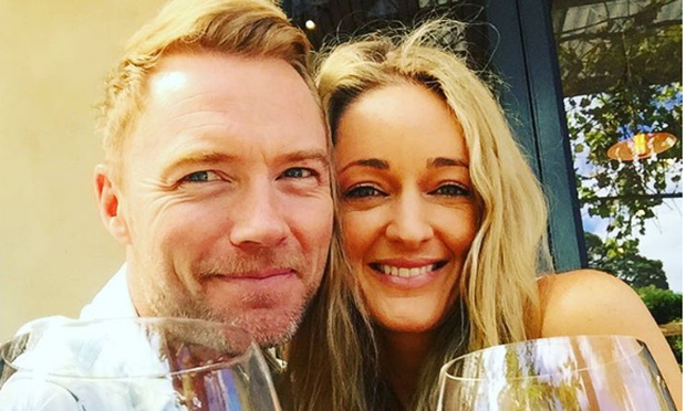 Ronan Keating and wife Storm. Photo: Instagram.