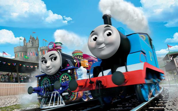 Ashima of India with Thomas in The Great Race