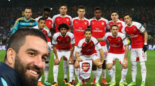Arda Turan has given Arsenal a right trolling