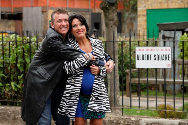 Eastenders pair Shane Richie and Jessie Wallace have shot a new six-part spin off series in the picturesque village of Dunmore East