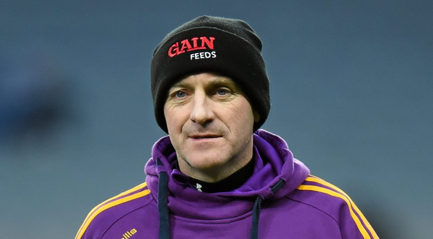 Wexford manager Liam Dunne. Photo: Stephen McCarthy/Sportsfile
