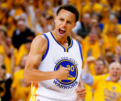 Stephen Curry of the Golden State Warriors. Photo: Ezra Shaw/Getty Images