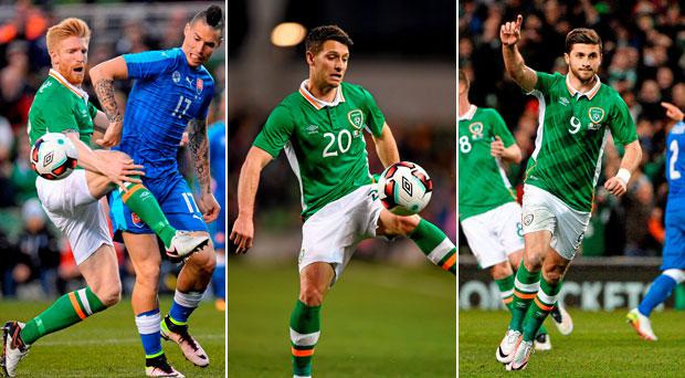 Who shone for Ireland tonight?