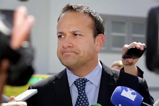 Health Minister Leo Varadkar came under attack over his management of services for mentally health facilities during marathon talks at government buildings