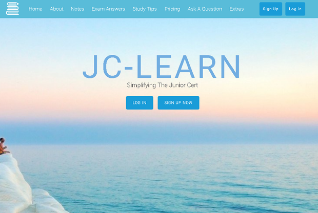 The J-C Learn website
