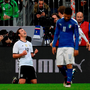 Mario Gotze of Germany (L) celebrates