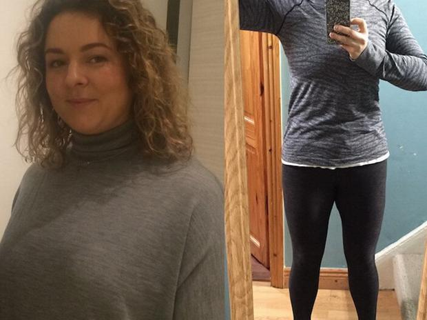 Rosemary MacCabe before and after her fitness journey