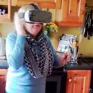 Irish mammy Josie tries VR for the first time