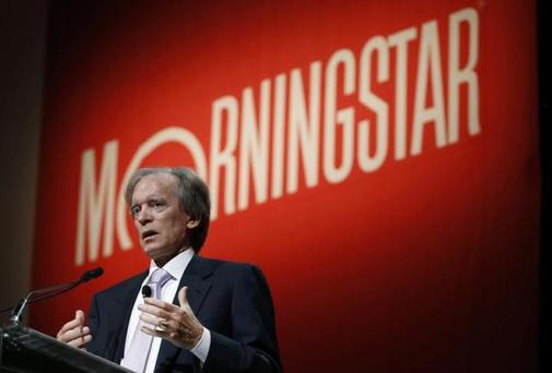 Bill Gross, co-founder and co-chief investment officer of Pacific Investment Management Company (PIMCO), speaks at the Morningstar Investment Conference in Chicago, Illinois, in this June 19, 2014 file photo. REUTERS/Jim Young