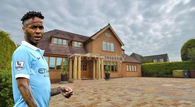 Raheem Sterling's mansion features some unique furnishings CREDIT: RIGHTMOVE